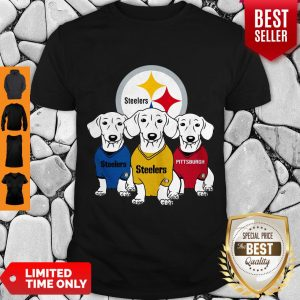 Good Dachshund Dogs Pittsburgh Steelers Logo Shirt