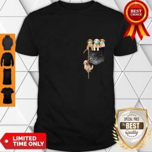 Good Golden Retrievers Mask In Pocket Shirt
