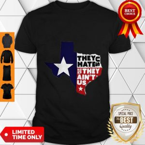 Funny They Hate Us They Ain'T Us Map T-Shirt
