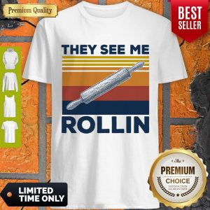 Official They See Me Rollin Vintage Shirt