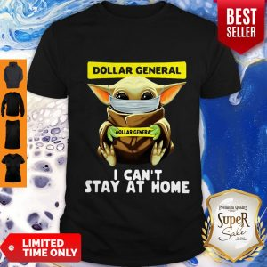 Top Star Wars Baby Yoda Face Mask Hug Dollar General I Can't Stay At Home Shirt