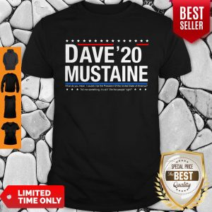 Nice Dave Mustaine 2020 Shirt