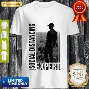 Official Social Distancing Expert Bow-Life Shirt
