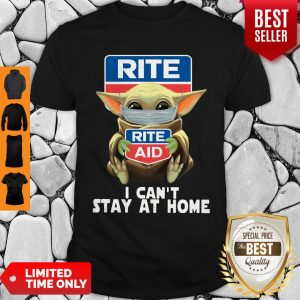 Pretty Baby Yoda Face Mask Hug Rite Aid I Can't Stay At Home Shirt