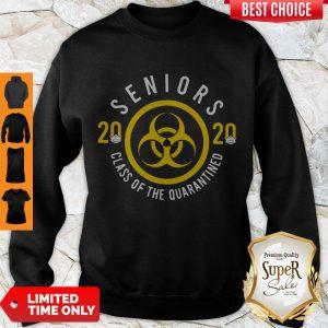 Pretty Seniors 2020 Class Of The Quarantined Sweatshirt