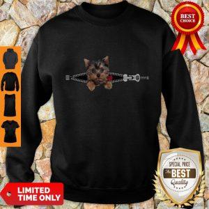 Top Dogs Pisces Yorkshire Terrier Zip And Rose Sweatshirt