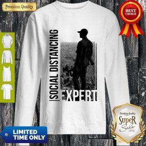 Official Social Distancing Expert Bow-Life Sweatshirt