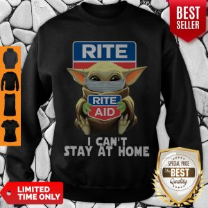 Pretty Baby Yoda Face Mask Hug Rite Aid I Can't Stay At Home Sweatshirt