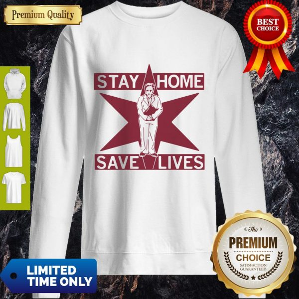 Pretty Lori Lightfoot Stay Home Save Lives Sweatshirt