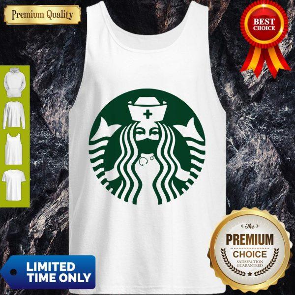 Pretty Starbuck Coffee Nurse Tank Top