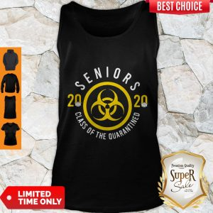 Pretty Seniors 2020 Class Of The Quarantined Tank Top
