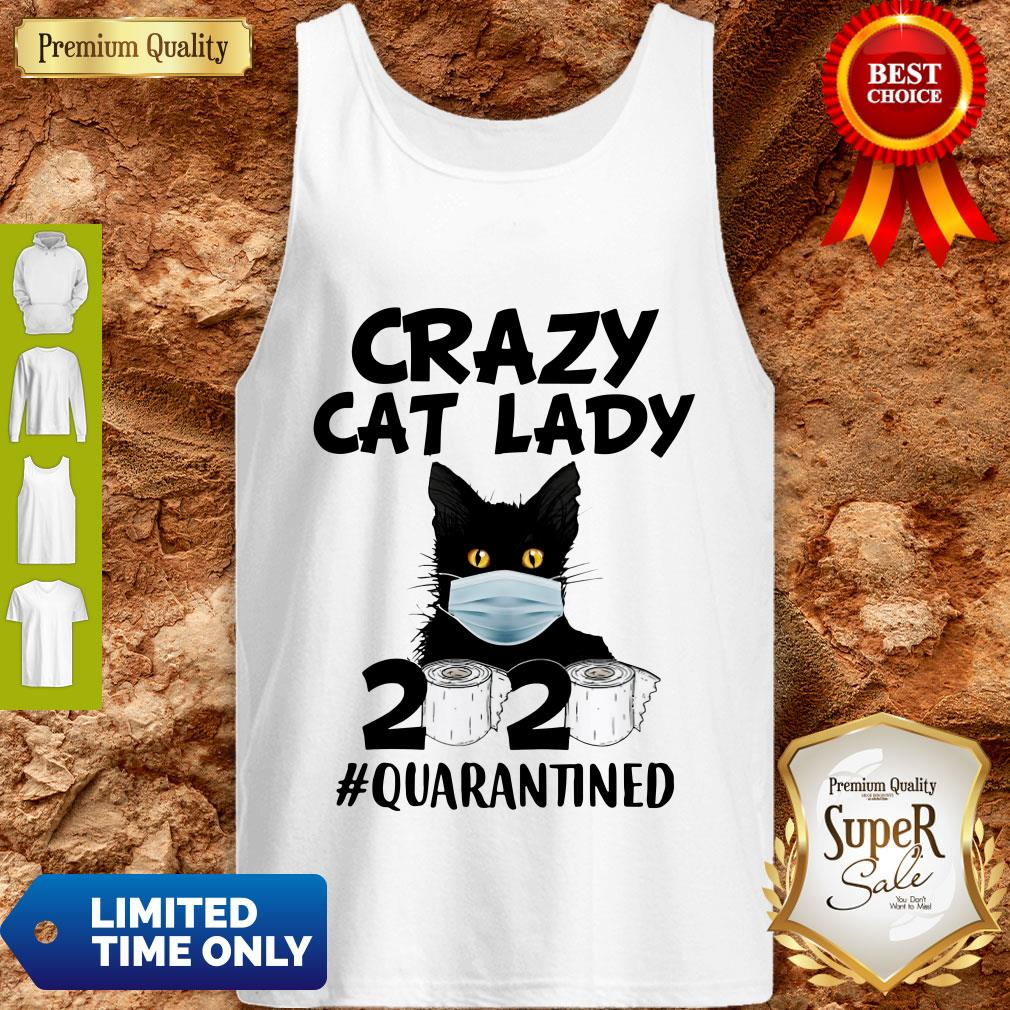 Official Crazy Cat Lady 2020 #Quarantined Tank Top