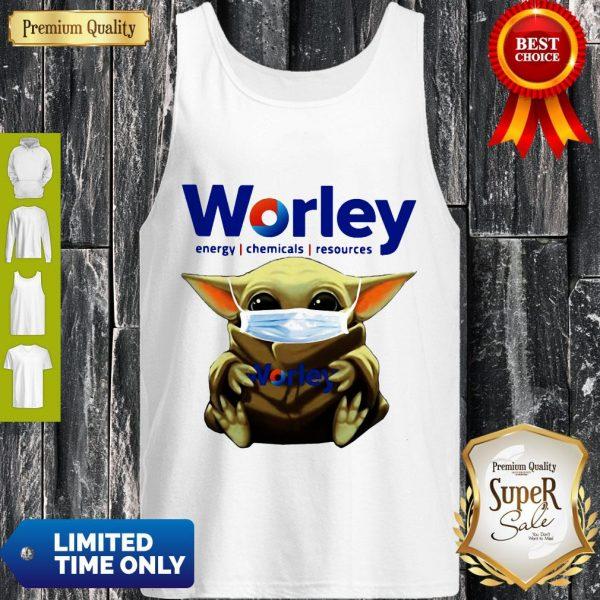 Good Baby Yoda Mask Worley Energy Coronavirus Tank Top