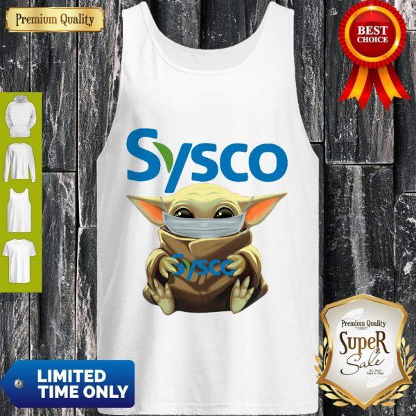 Nice Baby Yoda Mask Sysco Coronavirus Tank Top