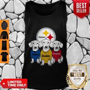 Good Dachshund Dogs Pittsburgh Steelers Logo Tank Top