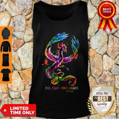 Nice Dragon Rise From Your Ashes Tank Top