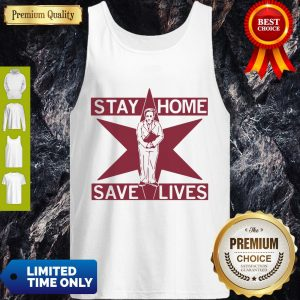 Pretty Lori Lightfoot Stay Home Save Lives Tank Top