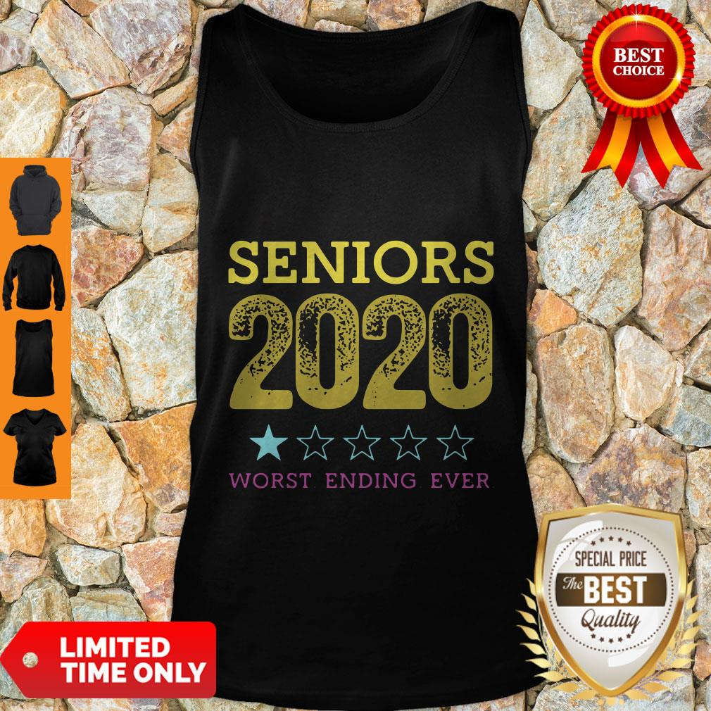 Top Seniors 2020 Worst Ending Ever Tank Top