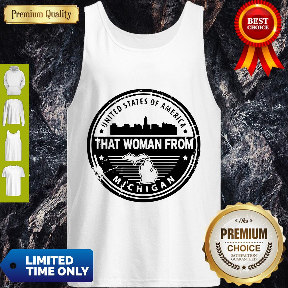 Official Gretchen Whitmer – That Woman From Michigan Tank Top