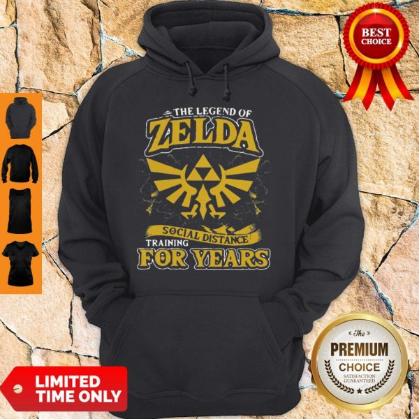 Top The Legend Of Zelda Social Distance Training For Years Hoodie