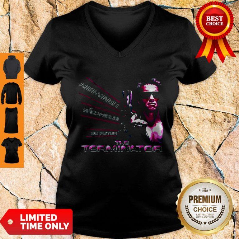 Nice American Assassin Mecanique Du Futur The Terminator V-neck
