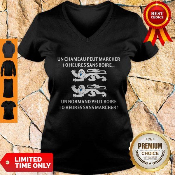 Good Un Chameau Peut Marcher I O Heures Sans Boire V-neck