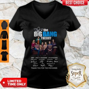 Nice The Big Bang Theory Thank You For The Memories Signature V-neck