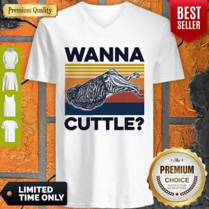 Good Wanna Cuttle Vintage V-neck