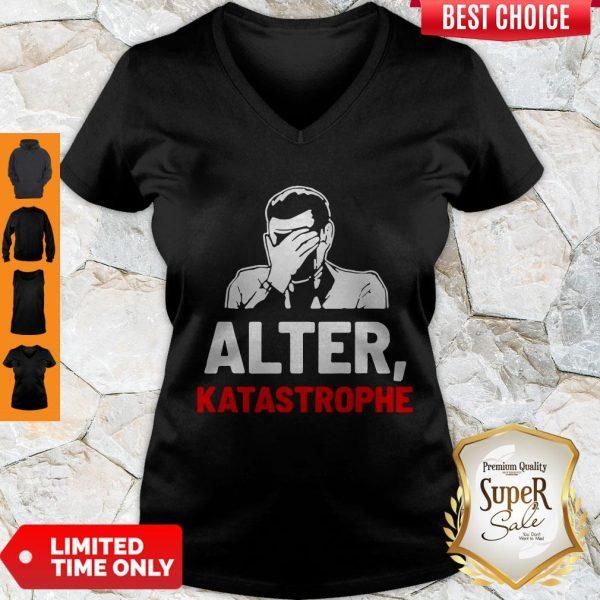 Nice Alter Katastrophe V-neck