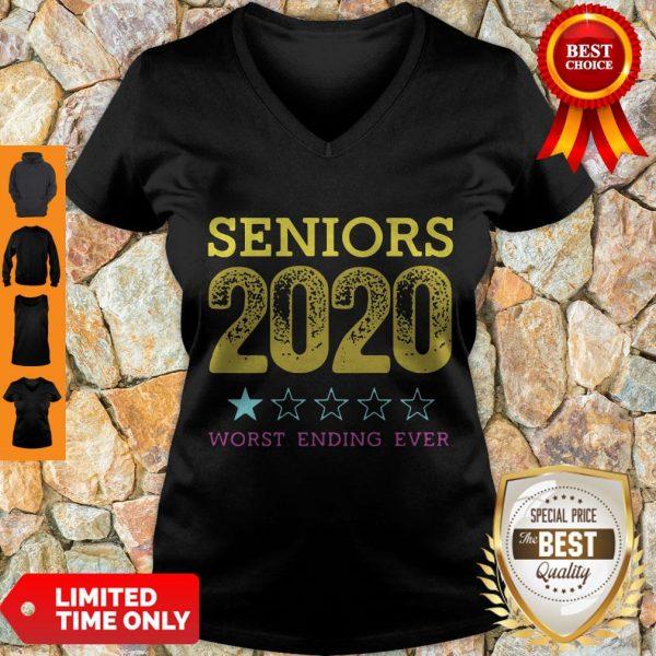 Top Seniors 2020 Worst Ending Ever V-neck
