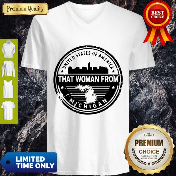 Official Gretchen Whitmer – That Woman From Michigan V-neck