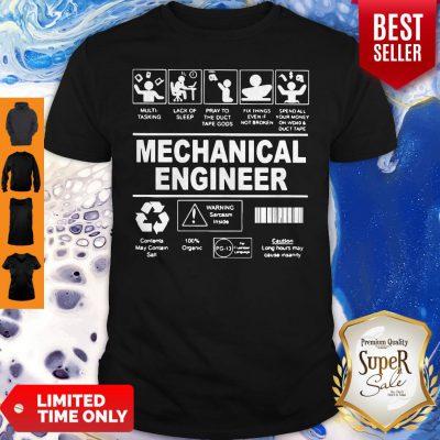 Awesome Mechanical Engineer Shirt