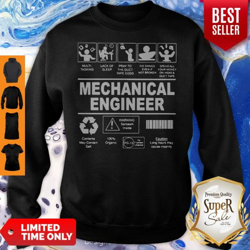 Awesome Mechanical Engineer Sweatshirt
