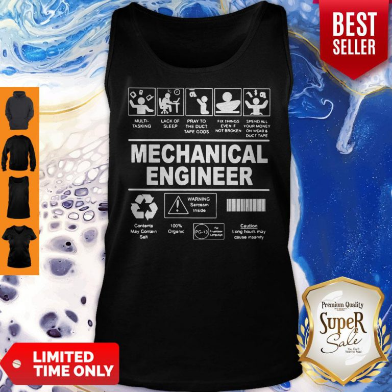 Awesome Mechanical Engineer Tank Top