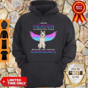 Good Alaskan Malamute In Heaven Hoodie