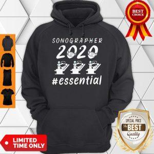 Nice Sonographer 2020 Mask Essential Hoodie