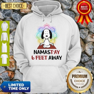 Good Snoopy Namastay 6 Feet Away Hoodie