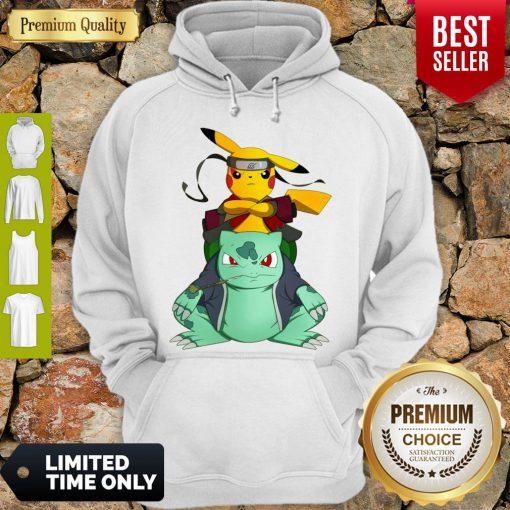 Pretty Pikachu Bulbasaur Pokemon Naruto Parody Hoodie