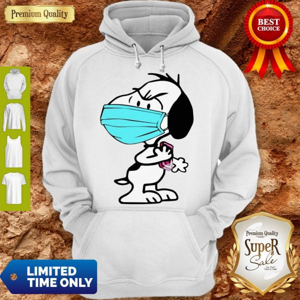 Good Snoopy Wash Your Hands Soap Hoodie