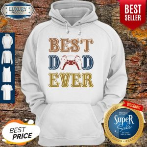 Nice Game Best Dad Ever Happy Father's Day Vintage Hoodie