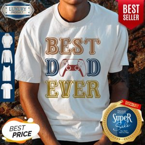 Nice Game Best Dad Ever Happy Father's Day Vintage Shirt