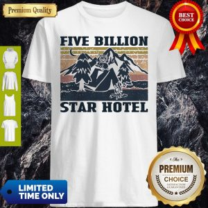 Nice Vintage Owl Mountain Five Billion Star Hotel Shirt