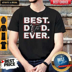 Official Atlanta Falcon Best Dad Ever Shirt