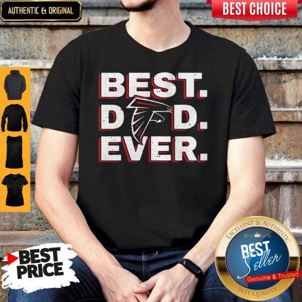 Official Atlanta Falcon Best Dad Ever Shirt