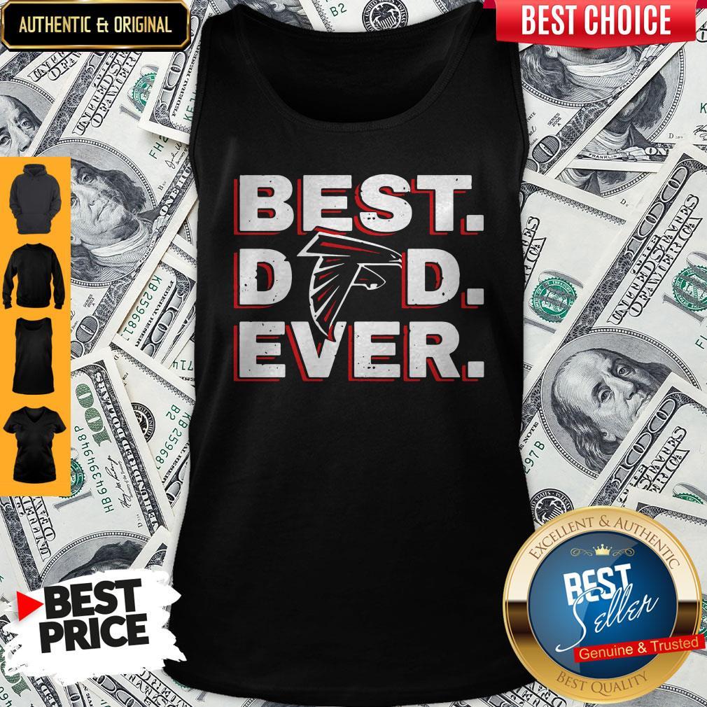 Official Atlanta Falcon Best Dad Ever Tank Top