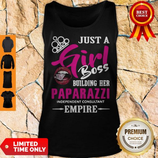 Official Just A Girl Boss Building Her Paparazzi Independent Consultant Empire Tank Top