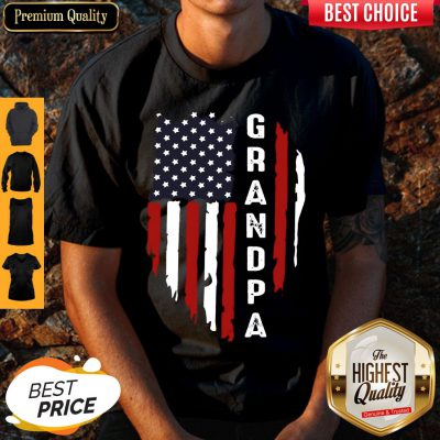 Official Personalized Flag Granpa Shirt