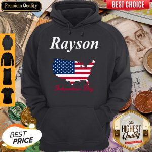 Official Rayson Independence Day Hoodie