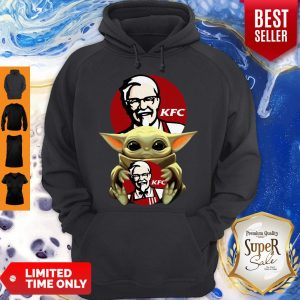 Original Baby Yoda Hug KFC No Days Off Hoodie