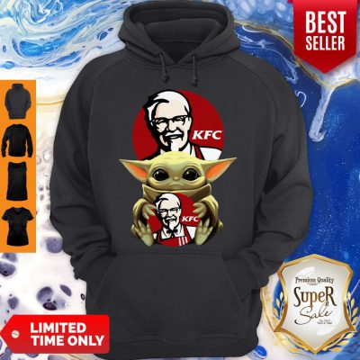 Original Baby Yoda Hug KFC No Days Off Hoodie